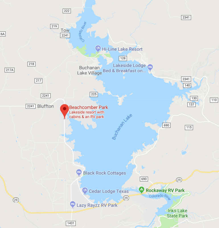 Lake Buchanan, Texas